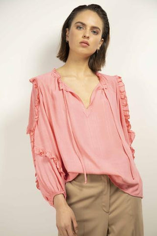 Roze blouse - Liv The Label