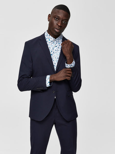 Blauwe blazer - Selected Homme