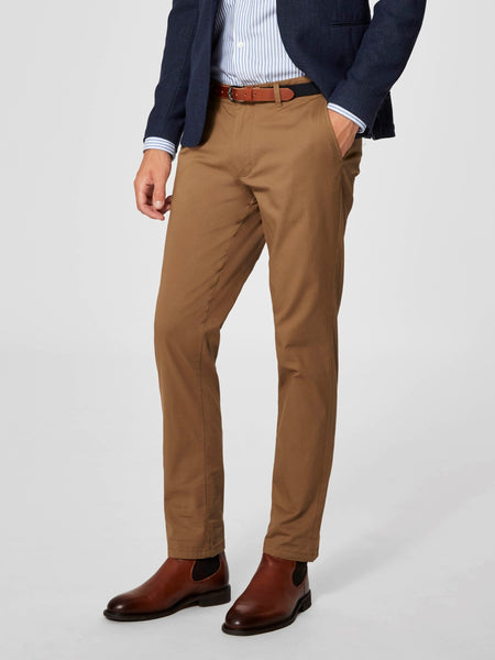 Broek camel -Selected Homme