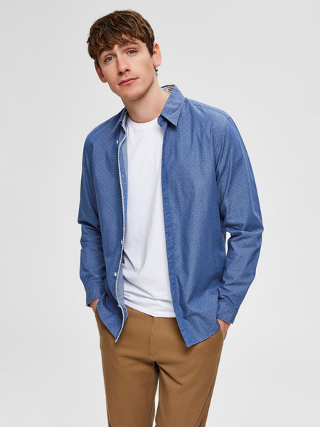 Shirt blauw - Selected Homme