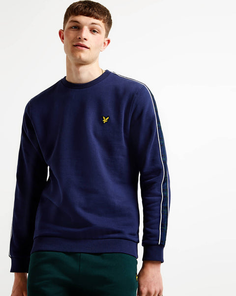 Blauwe sweater - Lyle & Scott