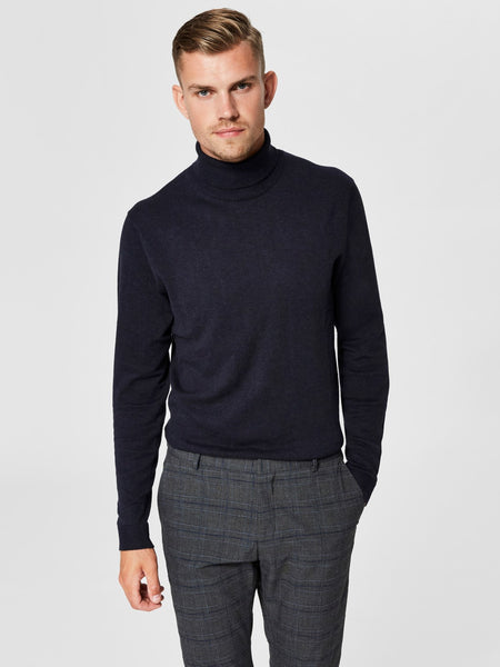 Pull blauw - Selected Homme