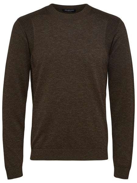 Pull bruin - Selected Homme