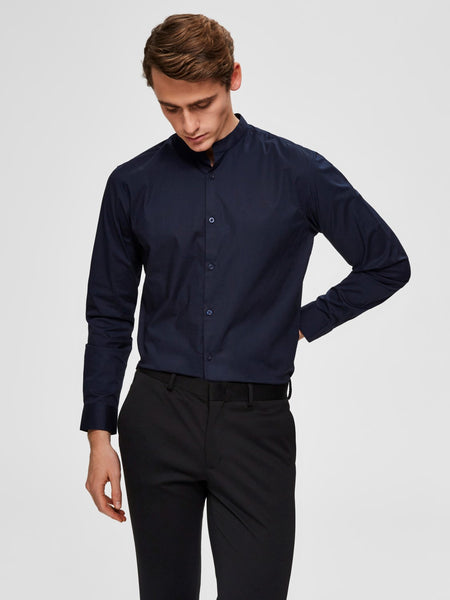 Donkerblauw hemd - Selected Homme