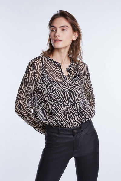 Blouse print - SET