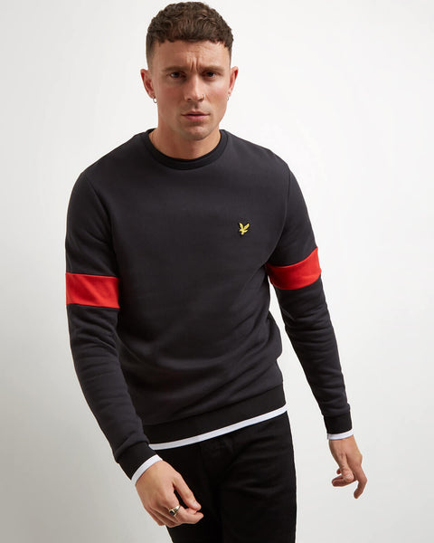 Sweater zwart - Lyle & Scott