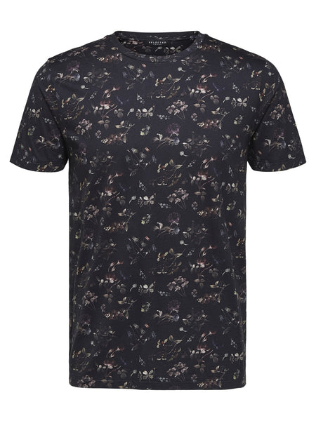 T shirt print - Selected Homme
