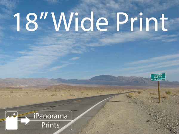 "18"" Wide iPhone Panorama Print - Buy Online - iPanorama Prints - 2"
