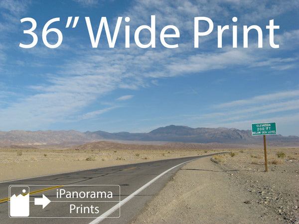 "36"" Wide iPhone Panorama Print - Buy Online - iPanorama Prints - 2"