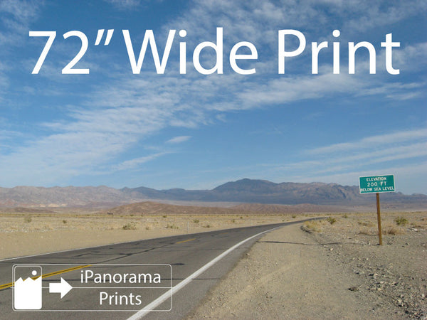 "72"" Wide iPhone Panorama Print - Buy Online - iPanorama Prints - 2"