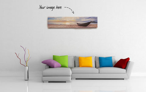 "36"" Wide Canvas Gallery Wrap for iPhone Panorama Photos - Buy Now - iPanorama Prints - 1"
