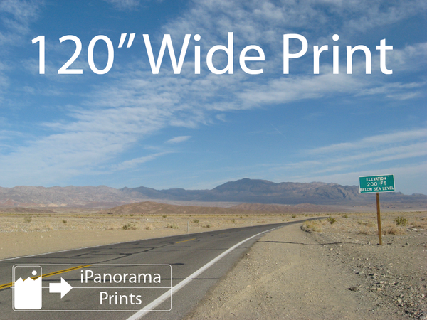 "iPanorama Prints - 120"" Print"