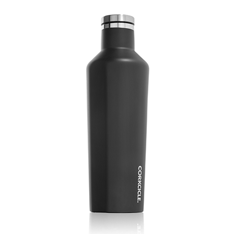 Corkcicle Canteen Gloss Matte Black - 16 oz.