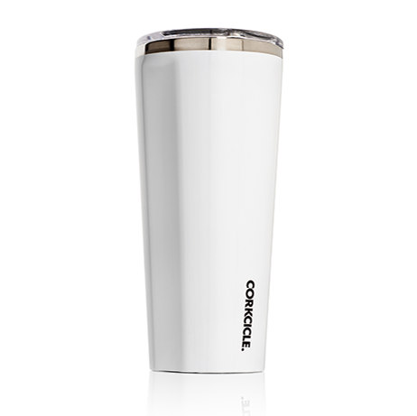 Corkcicle Tumbler Gloss White - 24 oz.