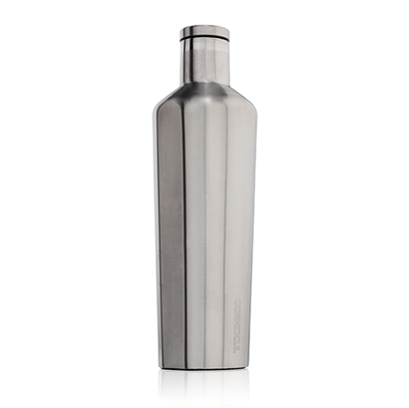 Corkcicle Canteen Brushed Steel - 25 oz.