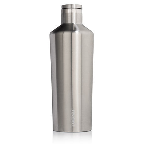 Corkcicle Canteen Brushed Steel - 60 oz.