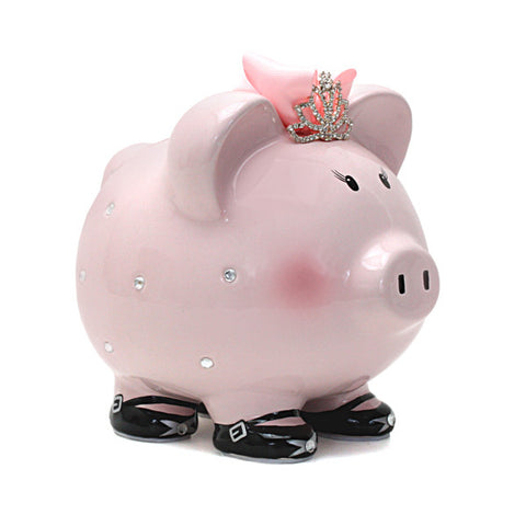 Piggy Bank - Miss Madeline (Tiara)