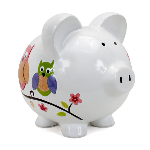 Piggy Bank - Owl