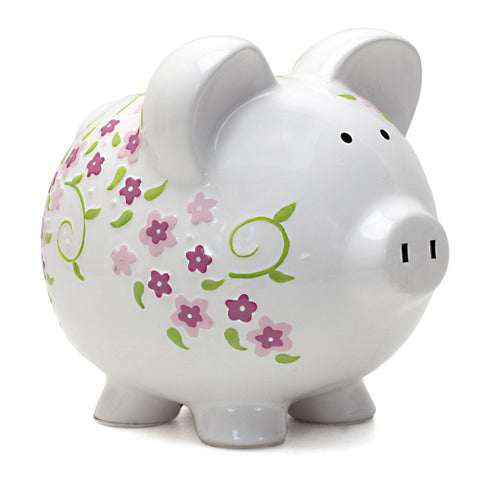 Piggy Bank - Shabby Chic