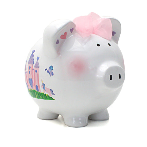 Piggy Bank - Princess Castle