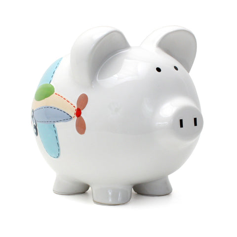 Piggy Bank - Airplane