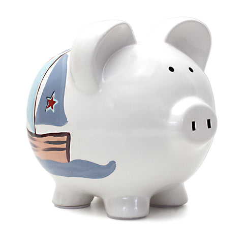 Piggy Bank - Nautical