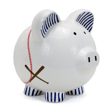 Piggy Bank - Baseball