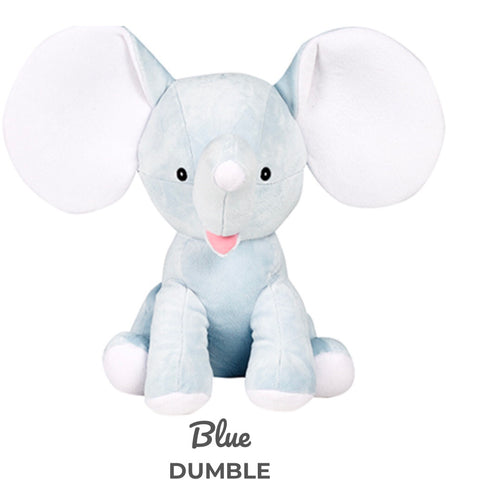 "Cubbies Blue Elephant ""Dumble"""
