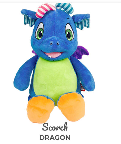 "Cubbies Dragon ""Scorch"""