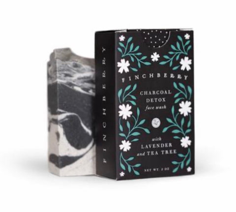 Charcoal Detox Face Wash Bar