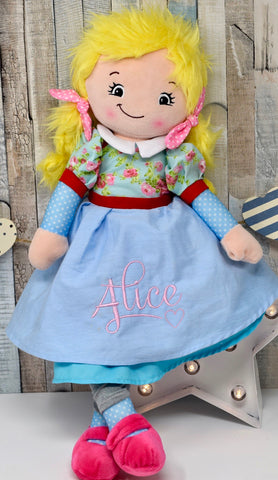 "Cubbies Rag Doll ""Joanna"""