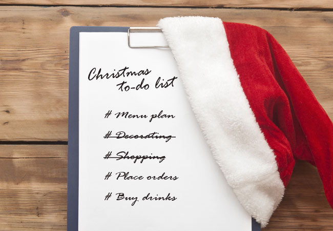 Christmas Checklist: 10 Things Not To Forget
