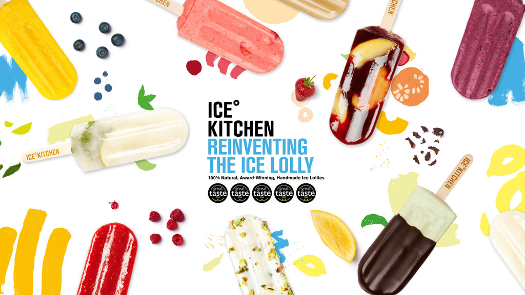 Ice Ice Baby - Ice Kitchen Artisan Ice Lollies Now In Stock at Feather & Nest