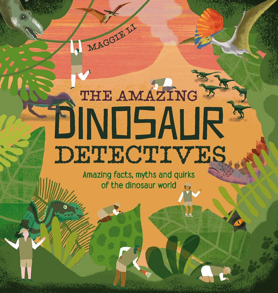 Amazing Dinosaur Detectives Book