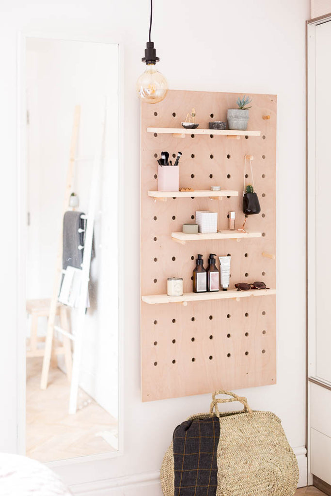 image of pegboard from Fall For DIY