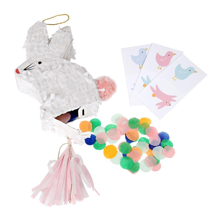 Bunny Pinata Party Favours