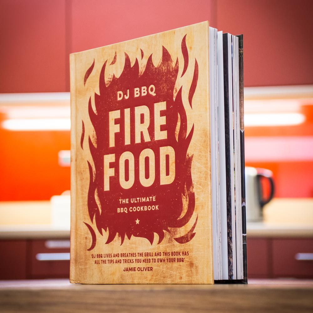 DJ BBQ Fire Food Book