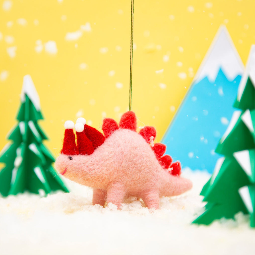 pink stegosaurus decoration