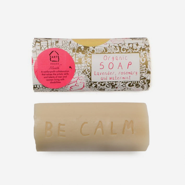 lavender, rosemary and watermint 'Be Calm' soap