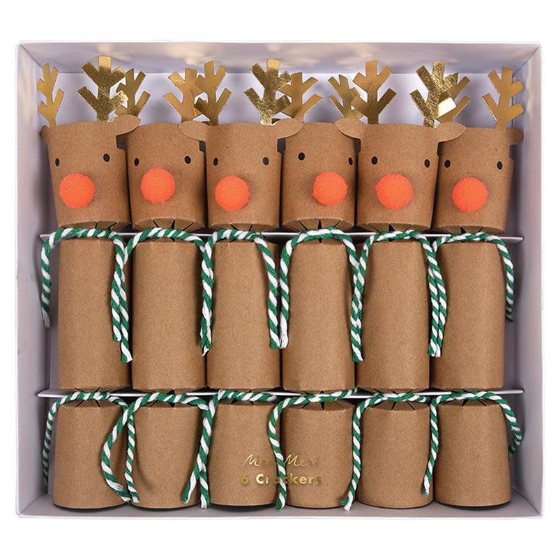 Mini Reindeer Crackers