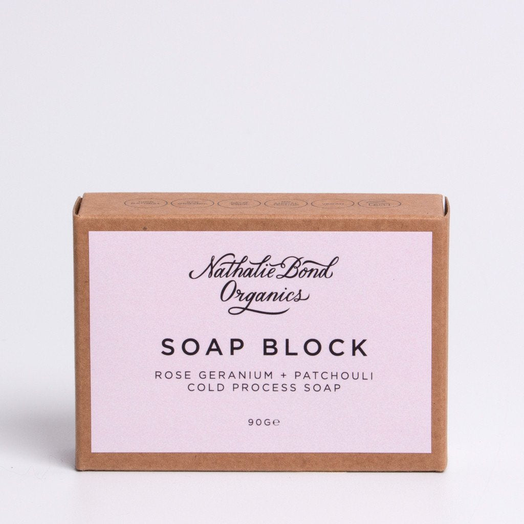 Natalie Bond Organics Soap Block
