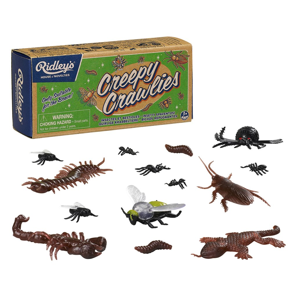 Ridley's Creepy Crawlies Toy Collection