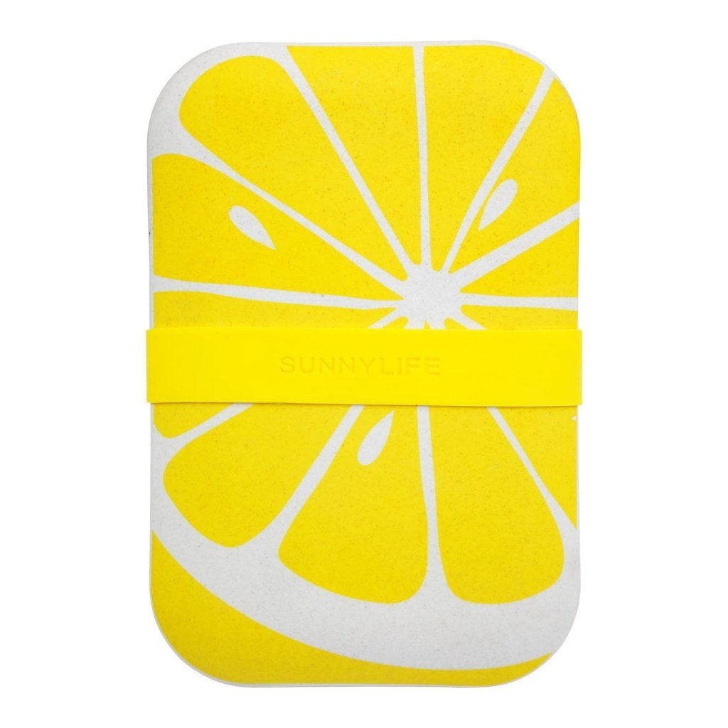 SUNNYLIFE Lemon Eco Lunch Box