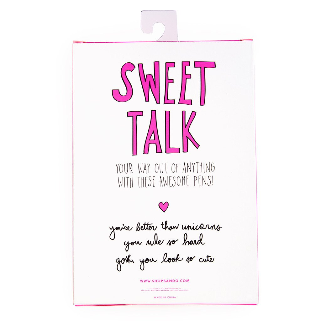 Sweet Talk Pen Set