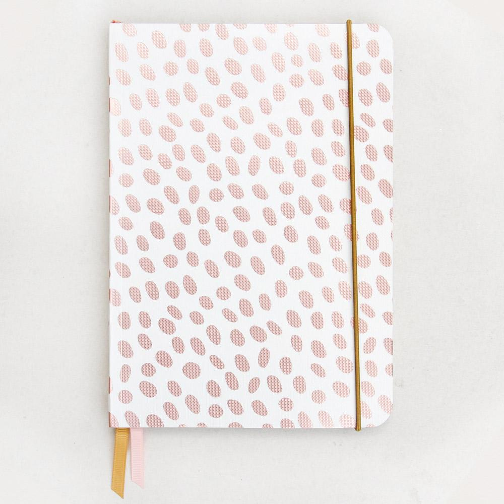 Caroline Gardner Metallic Dotty Notebook