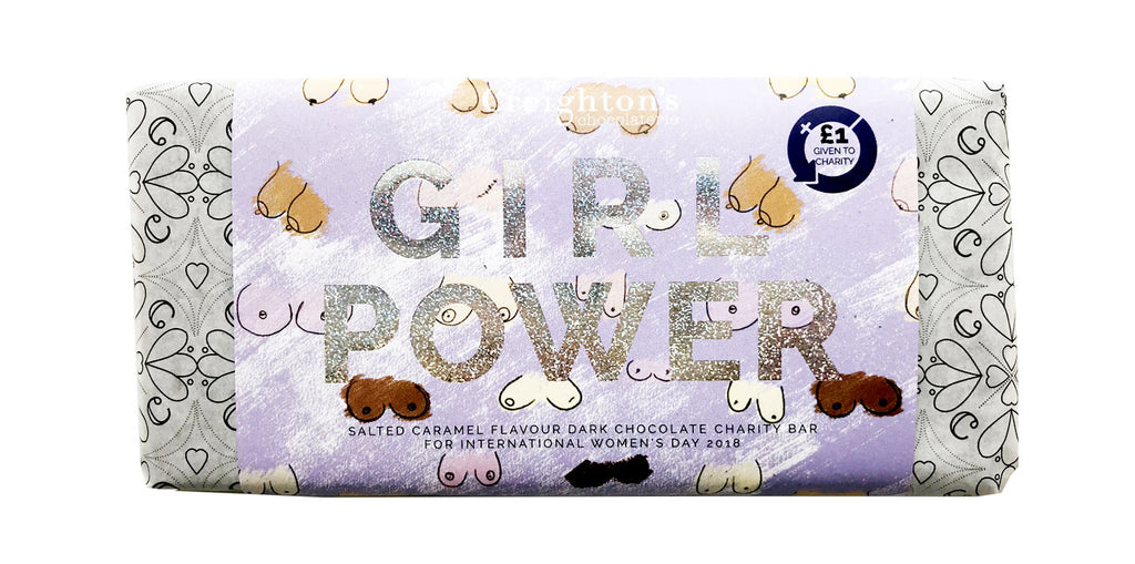 Girl Power Chocolate Bar By Creighton's Chocolaterie