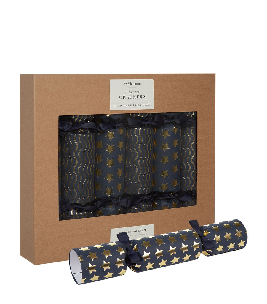 Navy & Gold Luxury Christmas Crackers