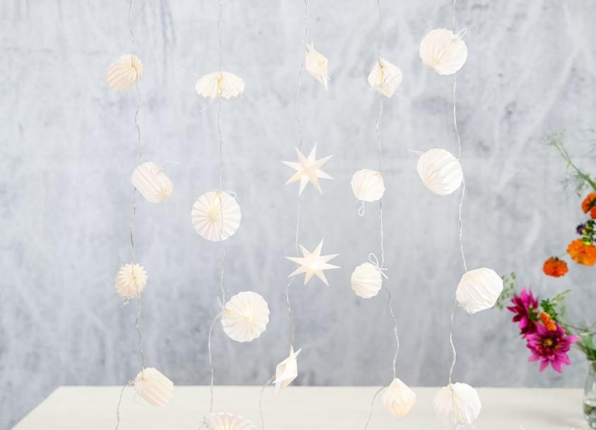 paper garland lights lifestyle