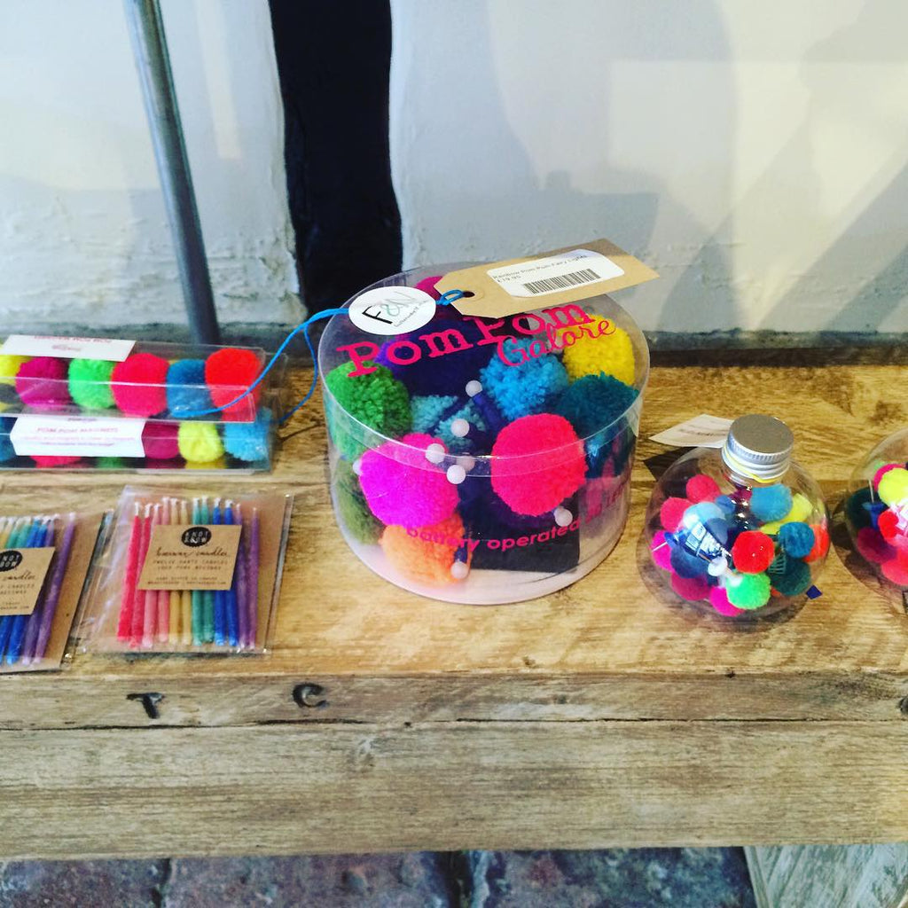 Pom Pom Accessories at Feather and Nest