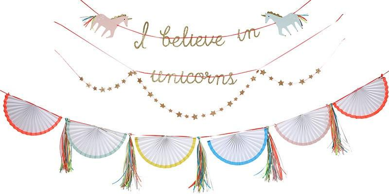 Merry Meri Unicorn Garlands Kit